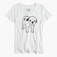 Hugo Guinness™ for J.Crew dog linen T-shirt