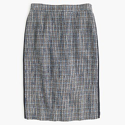 Pencil skirt in flecked tweed