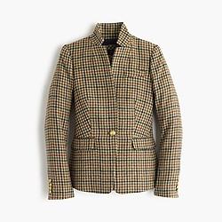 Petite Regent blazer in plaid