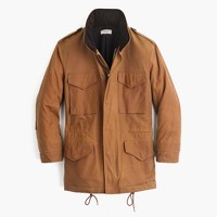 Wallace & Barnes waxed cotton M-65 jacket