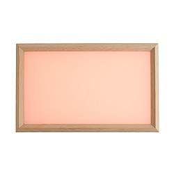 Applicata™ Tracy tray in rose