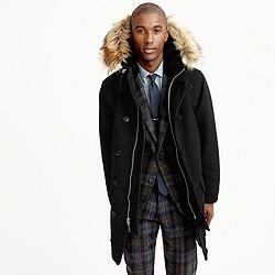 Italian wool snorkel jacket
