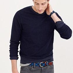 Reverse terry sweatshirt