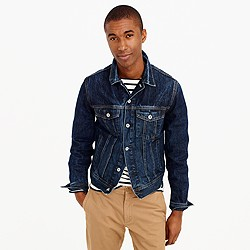 Denim jacket in walden wash
