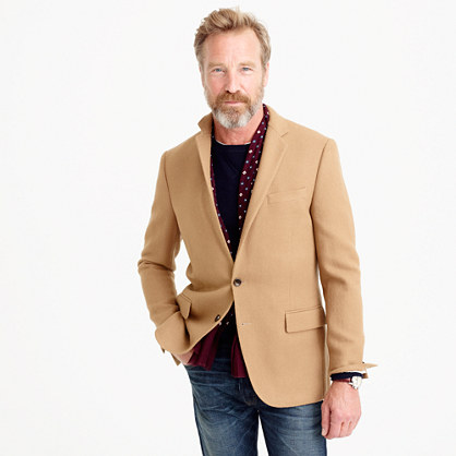 Ludlow blazer in English wool