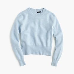 Wool back-zip sweater