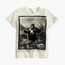 J.Crew for the American Museum of Natural History gorilla T-shirt