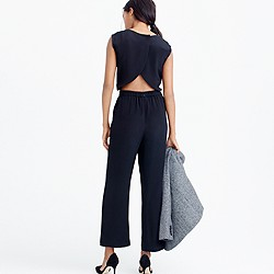 Collection wide-leg jumpsuit