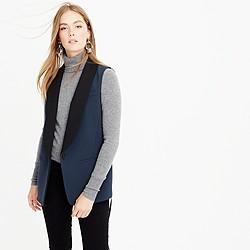 Collection tuxedo vest