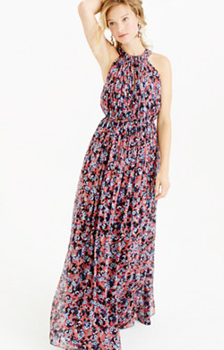 Collection autumn floral gown