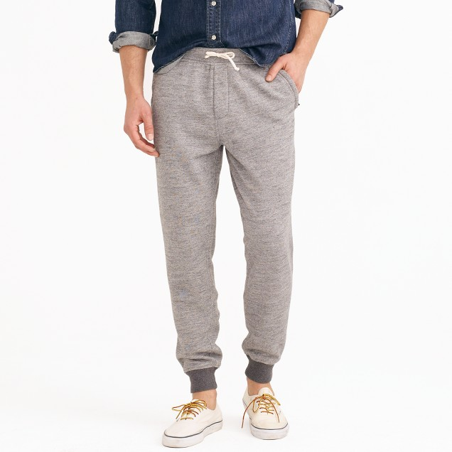 Classic zip-pocket sweatpant