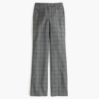 Petite Preston pant in windowpane plaid