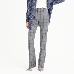 Preston pant in windowpane plaid
