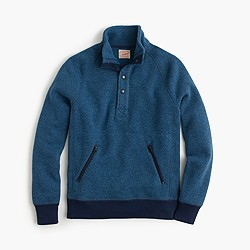 Summit fleece mockneck pullover jacket