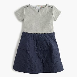 Girls' puffer-skirt dress