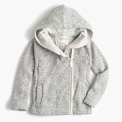 Girls' sweater fleece hoodie