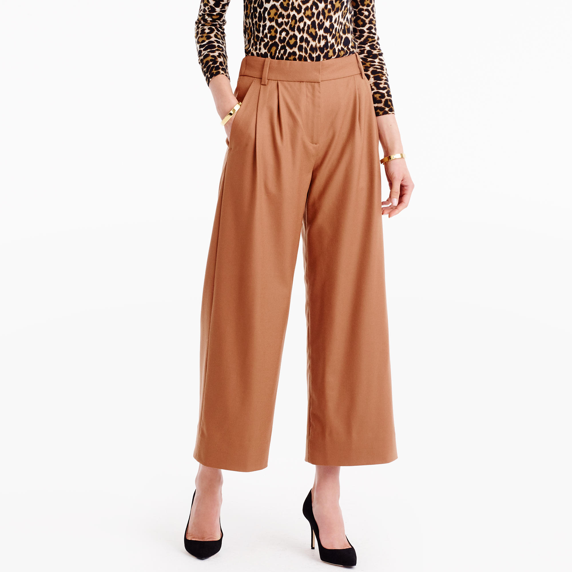 Image result for Drapey Culotte in Wool Flannel for african females