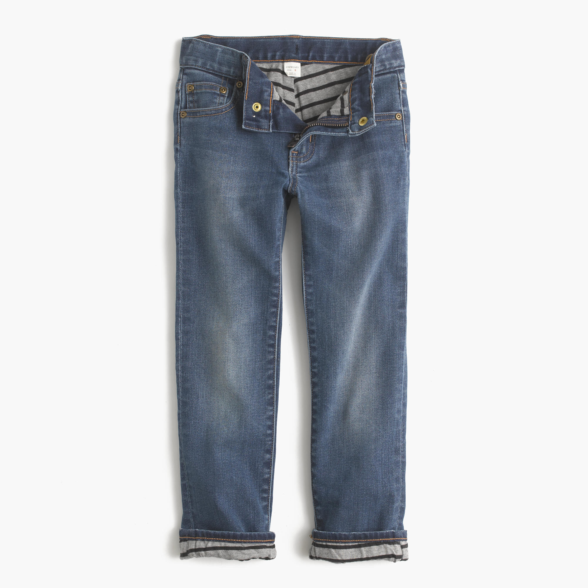 Boys Lined Jeans with Regular Fit Stretch Straight Leg and 5 Pockets $ 20 99 Prime. out of 5 stars 3. The Children's Place. Baby Boys' Pull On Cargo Pants, from $ 7 95 Prime. out of 5 stars Pulla Bulla. Little Boys' Sweatpants Fleece Pants $ 8 80 Prime. out of 5 stars Gymboree. Boys' Lined Gymster Pant.