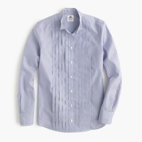 Thomas Mason® for J.Crew tuxedo shirt in stripe