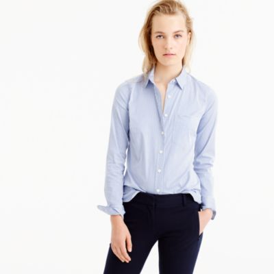 Thomas Mason® for J.Crew stretch shirt in stripe