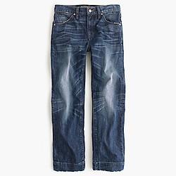 Point Sur Japanese denim wide-leg cropped jean