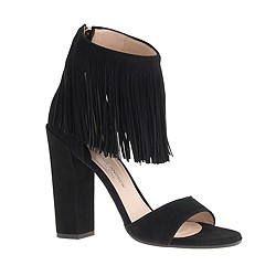 Paul Andrew™ for J.Crew fringe high-heel sandals