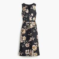Collection painterly floral dress