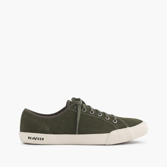 SeaVees® for J.Crew 06/67 Monterey sneakers in dusty olive suede