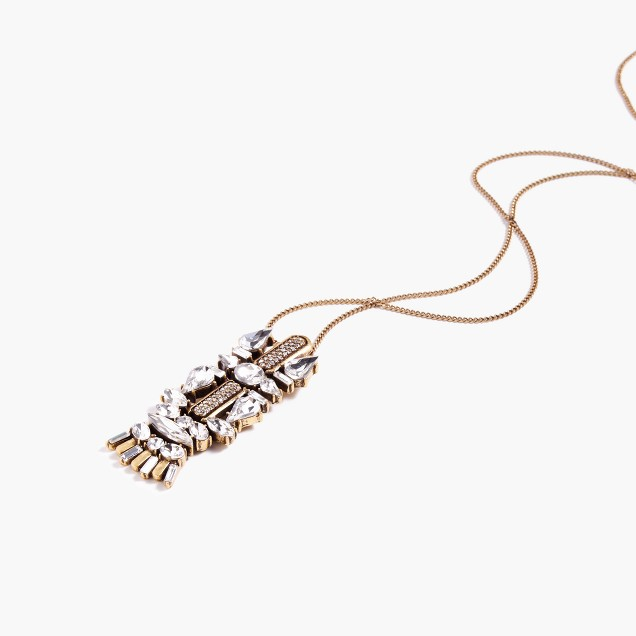 Collected charm pendant necklace