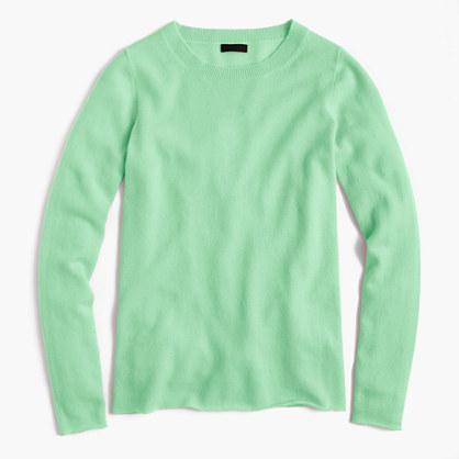 Italian cashmere long-sleeve T-shirt