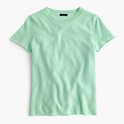 Collection cashmere short-sleeve T-shirt