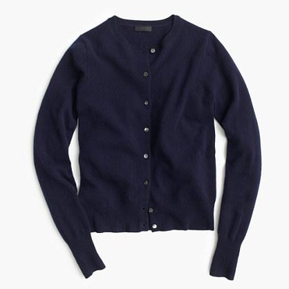 Italian cashmere cardigan sweater