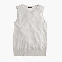 Italian cashmere shell top