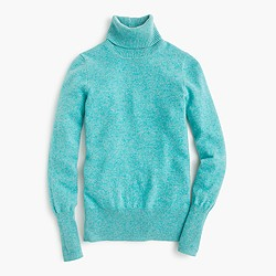 Collection classic turtleneck sweater in cashmere