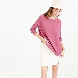 Collection cashmere boatneck tunic