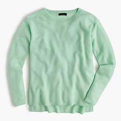 Merino wool swing pullover sweater