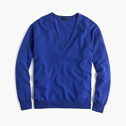 Collection cashmere boyfriend V-neck sweater