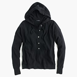 Italian cashmere hoodie