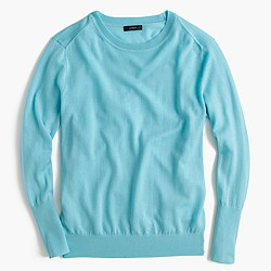 Relaxed merino wool pullover sweater