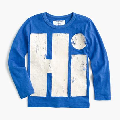 Boys' glow-in-the-dark hi-05 T-shirt