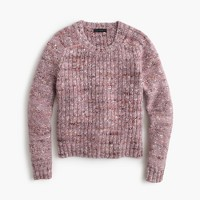 Collection textured crewneck sweater