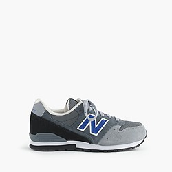 Kids' New Balance® for crewcuts 996 glow-in-the-dark lace-up sneakers