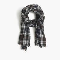 Tartan plaid scarf