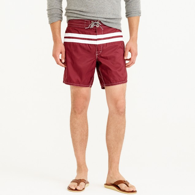 Birdwell® for J.Crew board short in stripe