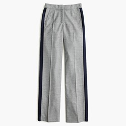 Collection tuxedo pant in Italian wool flannel