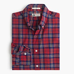 Thomas Mason® for J.Crew flannel shirt in benson plaid