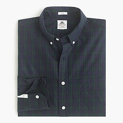 Slim Thomas Mason® for J.Crew flannel shirt in tartan