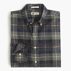 Slim Thomas Mason® for J.Crew flannel shirt in doyle plaid