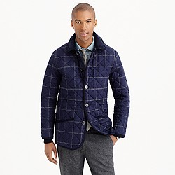 Traditional Weatherwear™ waverly wool windowpane jacket