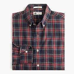 Slim Thomas Mason® for J.Crew flannel shirt in dan plaid